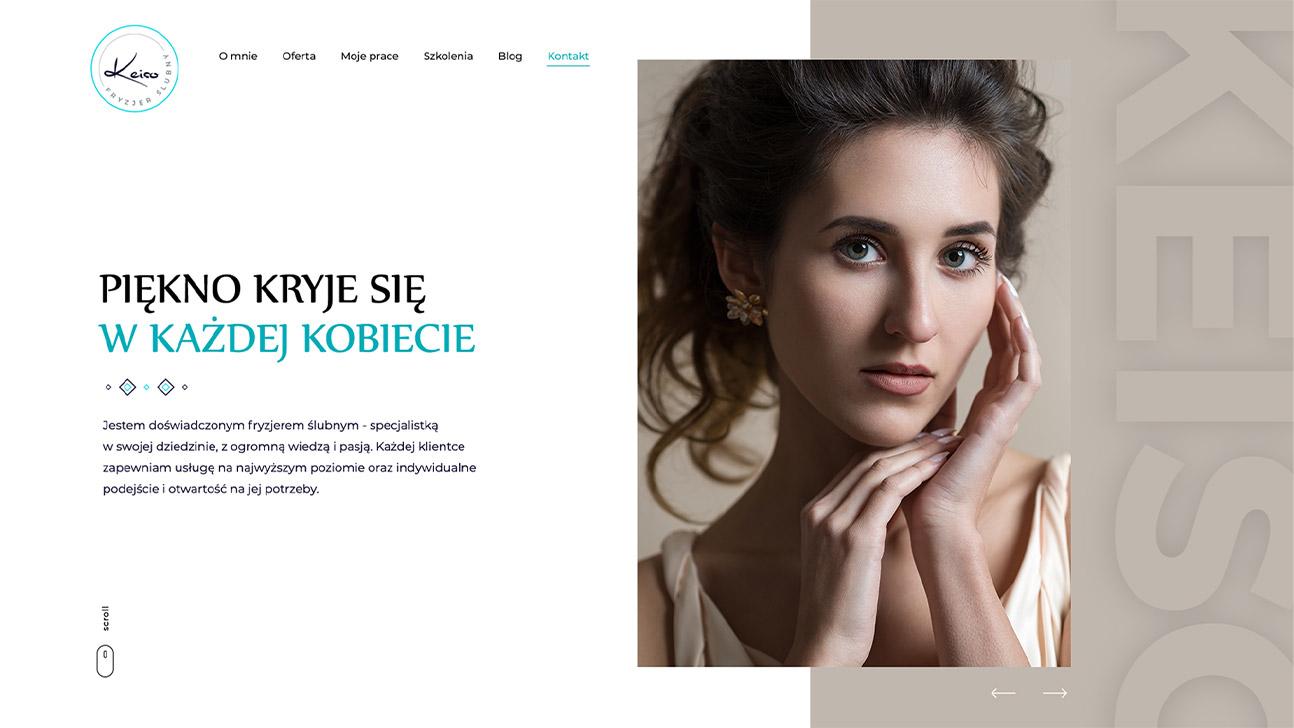 portfolio www fryzjer keiso desktop