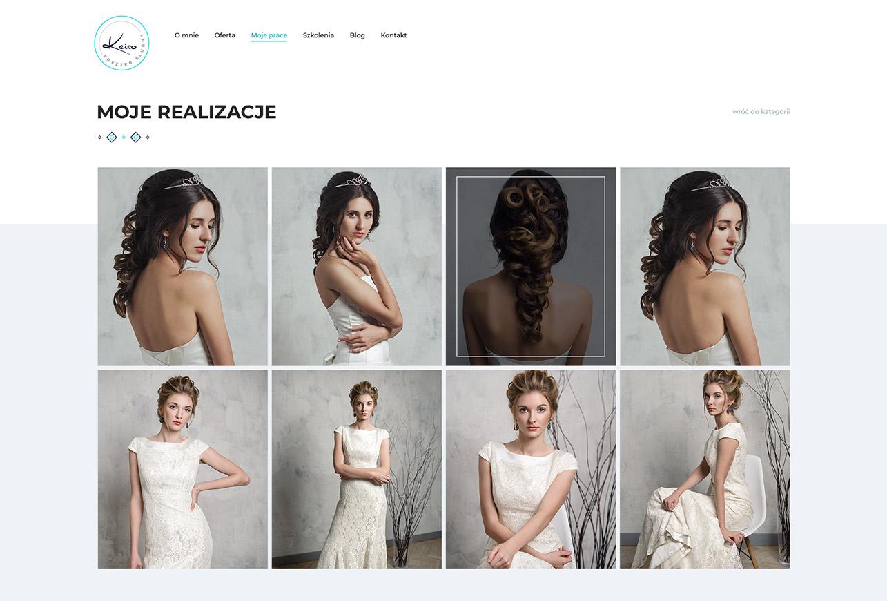 portfolio www fryzjer keiso