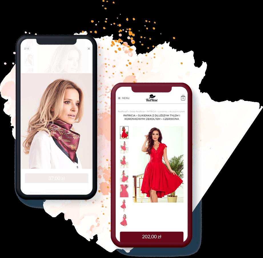 Sklep internetowy mobile RedRose